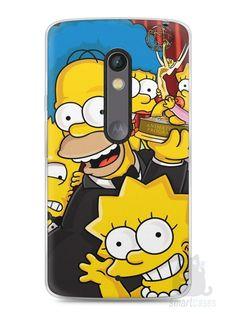 Capa Capinha Moto X Play Família Simpsons #2 - SmartCases - Acessórios para celulares e tablets :)