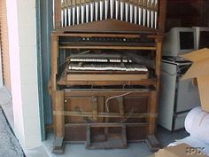 This is a historically important organ part of the foundation of the Seventh Day Advent Church. This organ started out as a 15 stop Farrand & Votey, Circa 1898