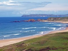 White Park Bay on the County Antrim coast of Northern Ireland