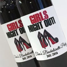 Louboutin Heels Girls Night Out Bachelorette Party by ZoeDeZigns