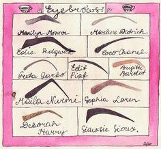 Iconic Eyebrows