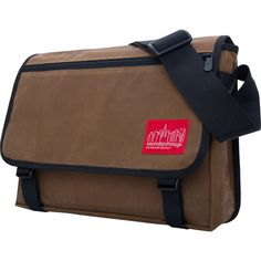 Manhattan Portage Waxed Canvas Europa Messenger Bag | 6 Colors