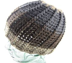 The Summit - Nature Inspired Beanie $50 #wool #crochet #etsy #hooak   https://www.etsy.com/listing/258988236/the-summit-nature-inspired-crochet-with