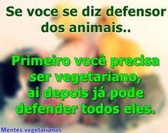 Veganismo não é sacrifício, é alegria.