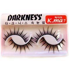Darkness False Eyelashes K-ma 7 by Darkness. $6.40. Best Selling False Eyelash. New False Eyelashes Designs. Variety of Fake Eyelash Designs. Top Quality False Eyelashes. Include 2 False Eyelid Glue. Darkness False Eyelashes K-ma 7