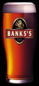 Cerveja Banks's Original, estilo English Brown Ale, produzida por Marston's Beer Company, Inglaterra. 3.5% ABV de álcool.