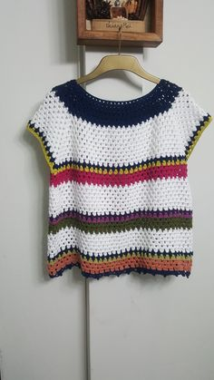 Swatch, Crochet Top, Projects To Try, Crop Tops, Sweaters, Color, Dresses, Women, White Blouses