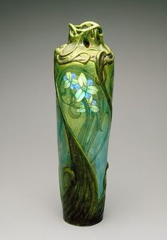 Vase, Lachenal Edmond, about 1900.