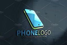 Mobiles, Mobile Phone Logo, Panzer, Logo Design, Logo Ideas, Iphone, Vectors, Template, Amp