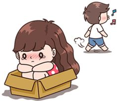 Boobib lovely couple 5 (Indo) – LINE stickers | LINE STORE