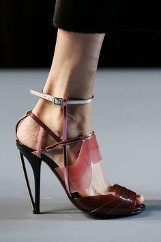 Shoes - High Heels | Fendi | Spring - Summer 2014 / Ready To Wear.   ~ LouiseAliceGunn