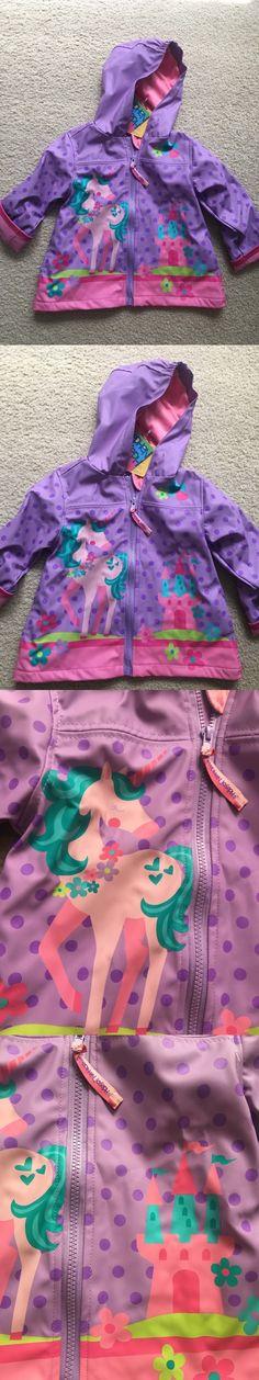 Other Baby and Toddler Clothing 1070: Stephen Joseph Rain Coat Unicorn Toddler Girl Rain Coat Purple Pink Size 2T -> BUY IT NOW ONLY: $35 on eBay!