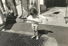 The little Marilyn, Paris 1975 by Edouard Boubat.