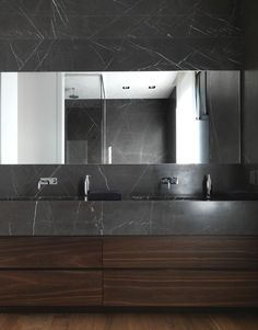 Inspiration | Dark Marble & Dark Timber