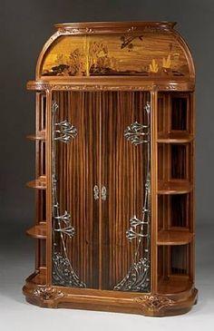 LUXURY CABINET   Cabinet/etagere by Louis Majorelle   www.bocadolobo.com/ #luxuryfurniture #designfurniture
