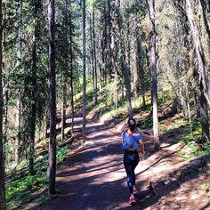 I'm perfectly incomplete. I'm still working on my masterpiece... #run#running#nike#asics#forests#calgarylife#calgary#lovelife#happy#banff#banfflife#Johnstoncanyon#waterfalls#summer#summerlife by ___em_______