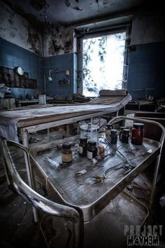 Urbex: Dr Anna's Haus aka Dr Anna's House and Surgery, Somewhere, Germany – July 2014 Abandoned Property, Abandoned Asylums, Abandoned Places, Haunted Asylums, Haunted Houses, Old Hospital, Abandoned Hospital, Old Buildings, Abandoned Buildings