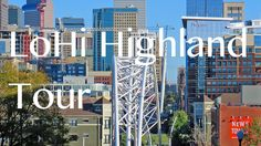 Aerial tour of Denver's LoHi Highland neighborhood. Discover the LoHi Highland Denver lifestyle and the many things to do!