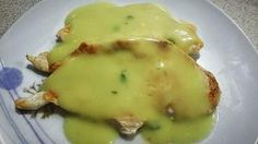 Pollo con crema di asparagi