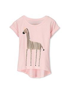 Cotton On Little Girls Penelope Short Sleeve Tee Bubblegum Pink Giraffe Hybrid Size 8  The Penelope short sleeve T-Shirt is a must have for every little girls wardrobe. The cute swing T-Shirt features short sleeves and a printed image in the centre of the t-shirt.         Cotton On Little Girls Penelope Short Sleeve Tee Bubblegum Pink Giraffe Hybrid Size 8 Features     Must have short sleeve girls T-Shirt   Swing fit T-Shirt with a high low hem for extra style   Fun Colors   Great Qu..