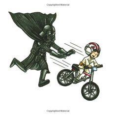 Darth Vader and Son - Bike Ride Star Trek Humor, Star Wars Meme, Star Wars Episódio Iv, Star Wars Cartoon, Star Wars Comics, Star Wars Art, Cartoon Art, Luke Skywalker, Lorde