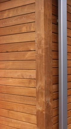 Recycled teak wallsiding
