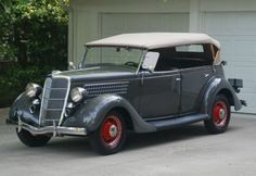 '35 Ford Phateon V8. It should come with a .45 Thompson.