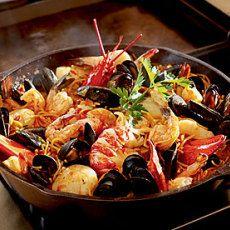Spanish Noodle Paella