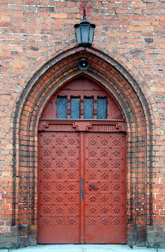 gothic doors - Google Search & Gothic Door photo taken by Ryan Cotterelle Church of St. Mary ... Pezcame.Com