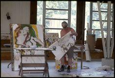10 Linda McCartney Willem de Kooning, Long Island, NY, 1968