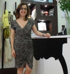 María Rapaza Ela Diz, dress by Aguamarina Paris