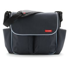 Skip Hop Diaper Bag Dash Deluxe Charcoal
