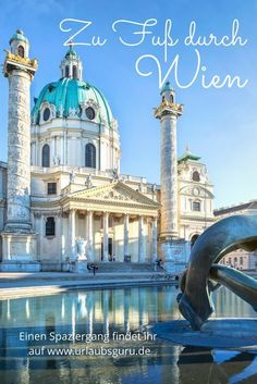 Top 15 Wien Sehenswürdigkeiten 2019 – Preise, Zeiten & Karte You do not want to miss a highlight of the beautiful city of Vienna? Here you will find a route that will take you on foot to the most beautiful sights. Places To Travel, Places To See, Attraction, Travel Tags, Us Destinations, Austria Travel, Travel Europe, Wanderlust Travel, Where To Go