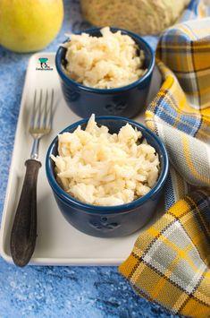 Surówka z selera i jabłka Tortellini, Risotto, Mashed Potatoes, Grains, Salads, Ethnic Recipes, Food, Whipped Potatoes, Smash Potatoes