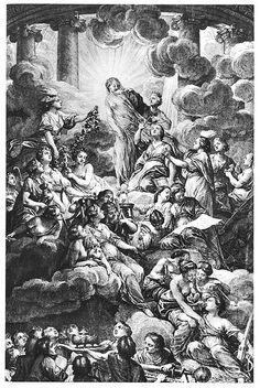 Frontispice de l'Encyclopédie de Diderot et d'Alembert