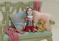 Dolls by Gale Elena Bantock\ I adore this