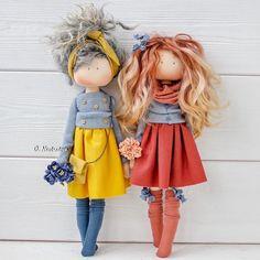 1 или by Doll Crafts, Diy Doll, Doll Clothes Patterns, Doll Patterns, Homemade Dolls, Sewing Dolls, Cute Toys, Waldorf Dolls, Soft Dolls