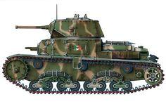 """""""Carro Armato M 13/40, I Squadrone Carri M, 2º Plotone, Gruppo Corazzato 'Leoncello', RSI, 1945"""""""