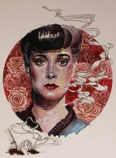 "zee-art:   Rachael from ""Blade Runner"" by Lauren Heyen"