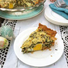 Egg & Swiss Chard Italian Easter Pie Recipe - Teaspoon of Spice