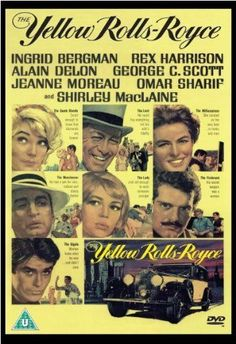 The Yellow Rolls Royce -DVD- -1964- NEW