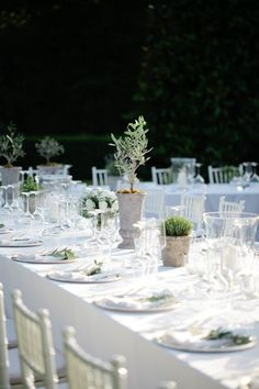 Image by Helen Cawte - A Beautiful Italian Wedding At Villa Catureglio With A Rustic Green And White Colour Scheme And A Dress By Forget Me Not Designs