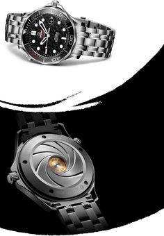 James Bond 007 Anniversary Collector's Piece OMEGA Watches: Seamaster 300 m chronometer Omega James Bond, Omega Seamaster James Bond, Omega Seamaster 300, Omega Speedmaster, Omega Bond, Fine Watches, Cool Watches, Watches For Men, Men's Watches