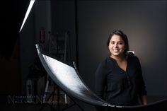 Headshot photography: Studio lighting - Westcott Eyelighter - Tangents