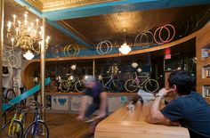 BICYCLE STORES! Superb bicycle boutique by O Z I I O, Boston store design