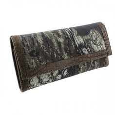Mossy Oak® Trifold Camouflage Wallet with Checkbook Cover – Handbag Addict.com