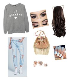 """""""Pretty but nowhere to go"""" by hous15 on Polyvore featuring RSQ, Cara, Etro, South Parade and GUESS"""