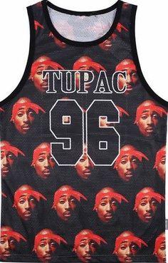 Tupac Basketball Jersey