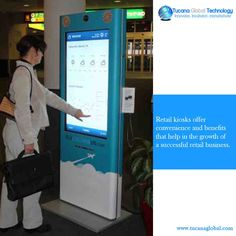 #Retail #kiosks offer #convenience and #benefits that help in the #growth of a successful retail #business. #TucanaGlobalTechnology #Manufacturer #HongKong