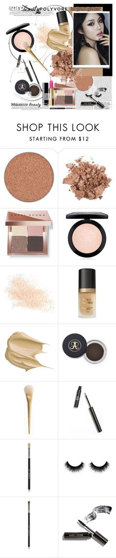 """""""Spring Beauty POLYVORE STYLE"""" by licethfashion ❤ liked on Polyvore featuring beauty, Bobbi Brown Cosmetics, MAC Cosmetics, Eve Lom, Too Faced Cosmetics, GlamGlow, Sigma Beauty, highlighter, springbeauty and licethfashion"""